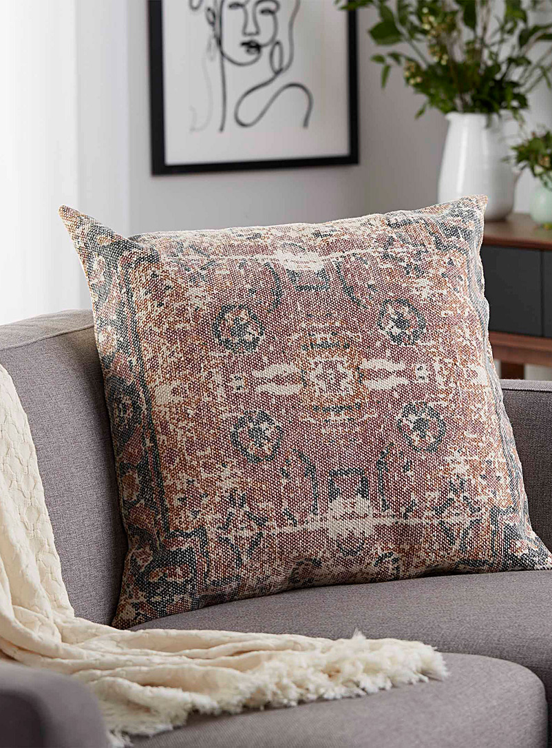 Vintage medallion cushion  24&quote; x 24&quote; - Printed
