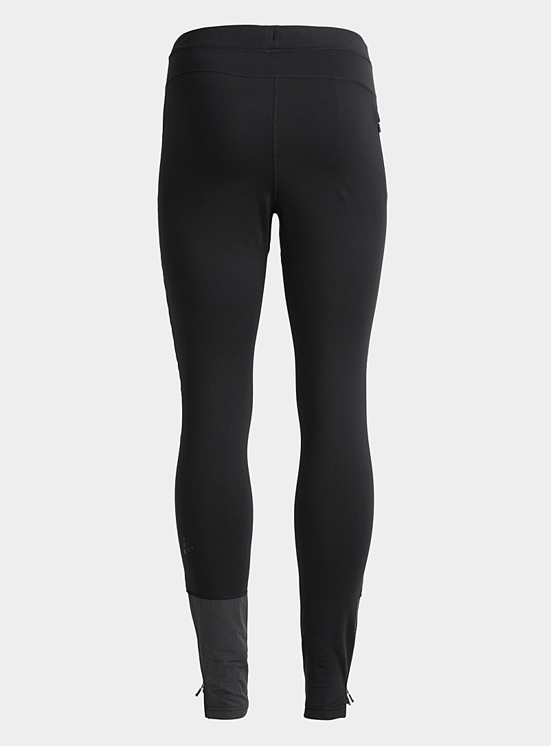 CRAFT Black SubZ padded legging for men