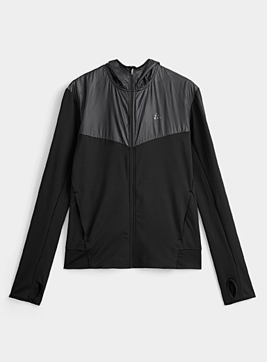 Mixed-media ADV Charge hooded jacket