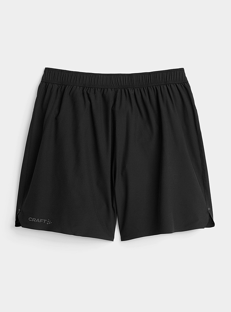 "CRAFT Black ADV Essence 5"" stretch short for men"
