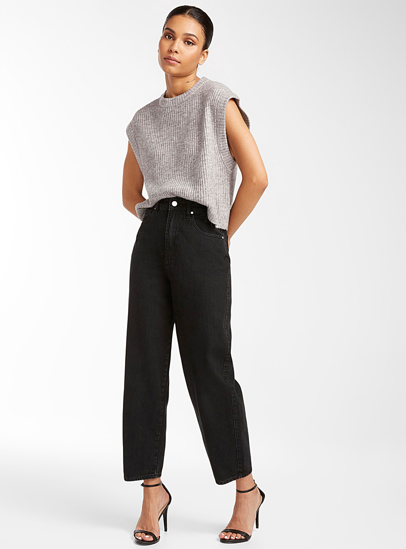 Icône Honey Cropped ribbed vest for women