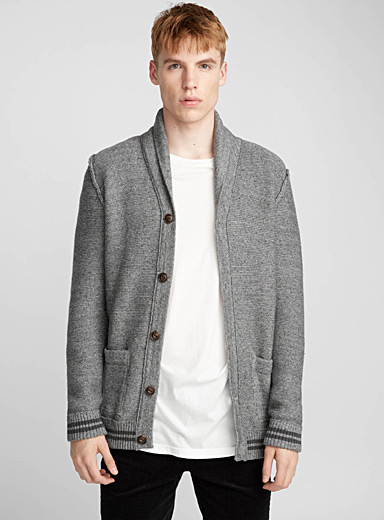Humphrey shawl-collar cardigan