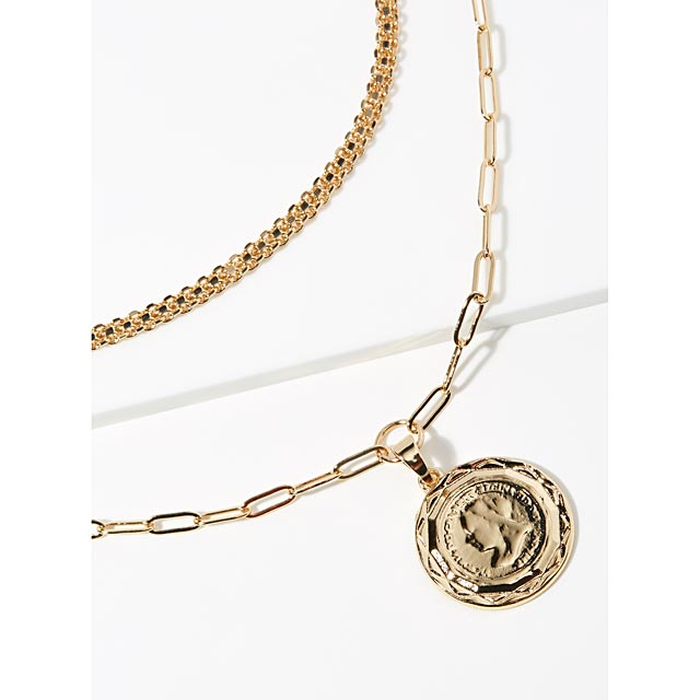 medal-double-necklace