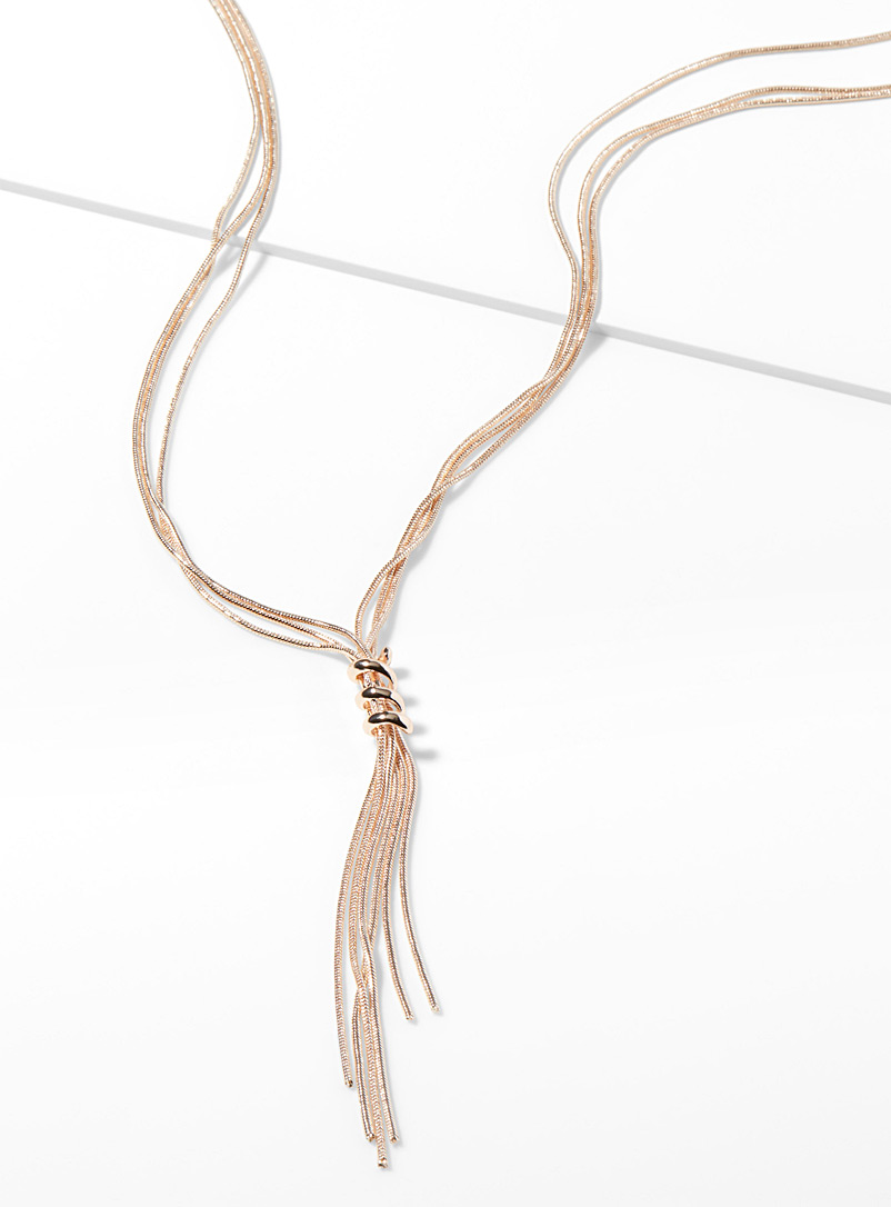 Spiral lasso necklace - Necklaces - Assorted