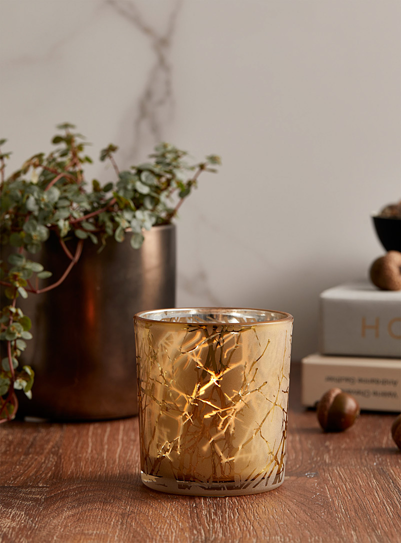 Simons Maison Assorted Golden forest candle holder