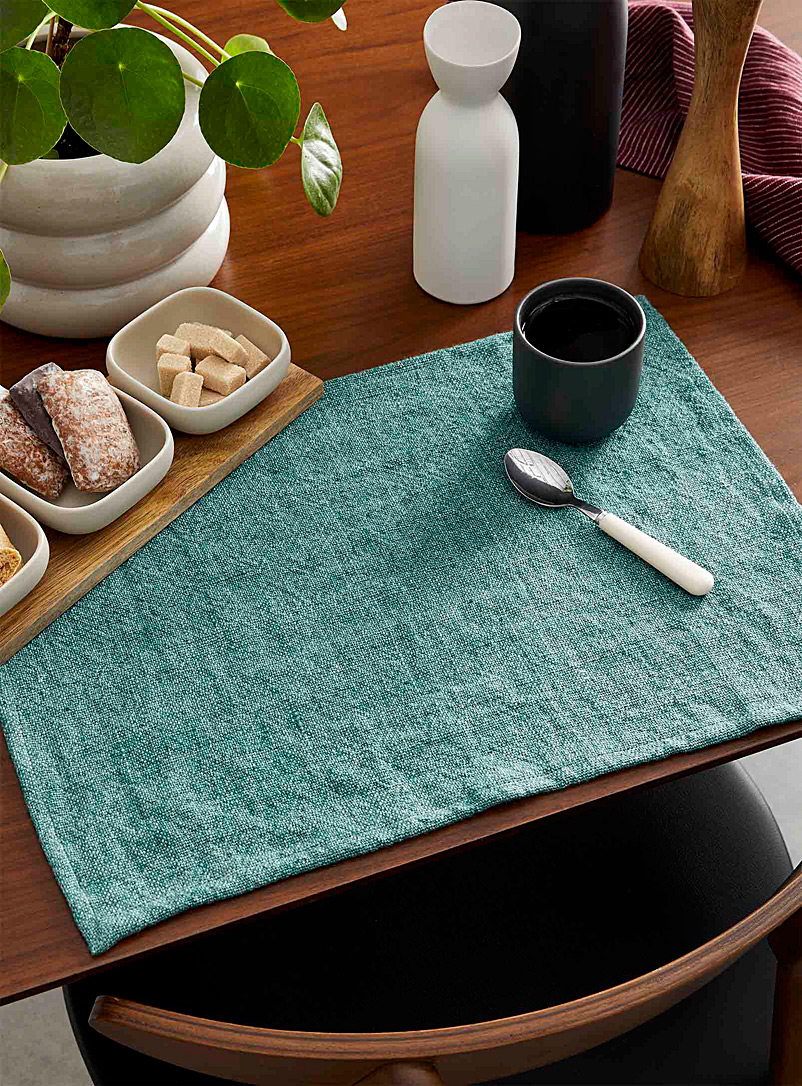 Simons Maison Turquoise Charming meadow placemat