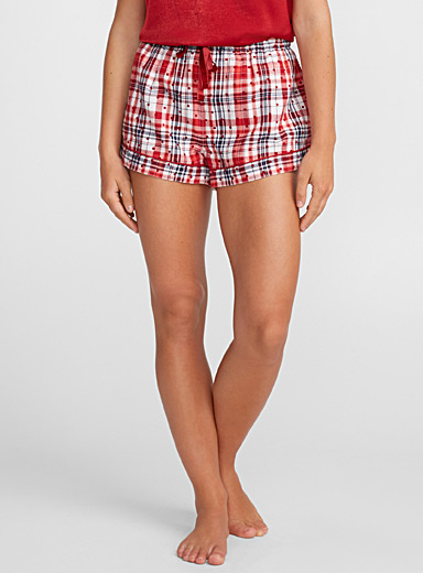 Chic check boxer
