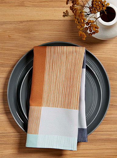Simons Maison: La serviette de table couleurs vibrantes Assorti