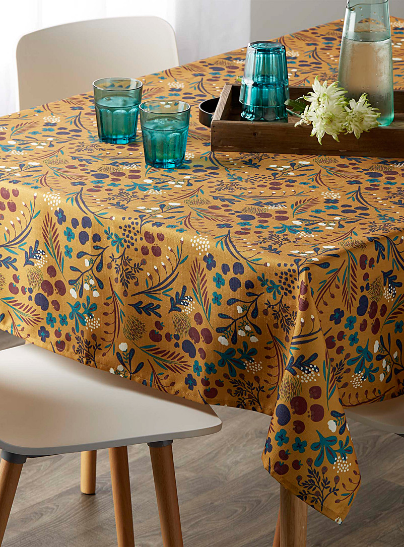 Mystical garden tablecloth
