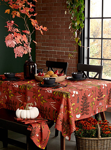 Autumn's riches tablecloth