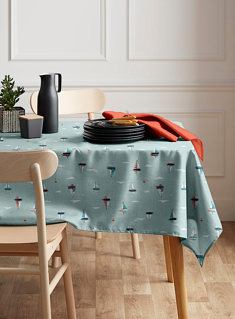 Simons Maison Assorted Off to sea tablecloth