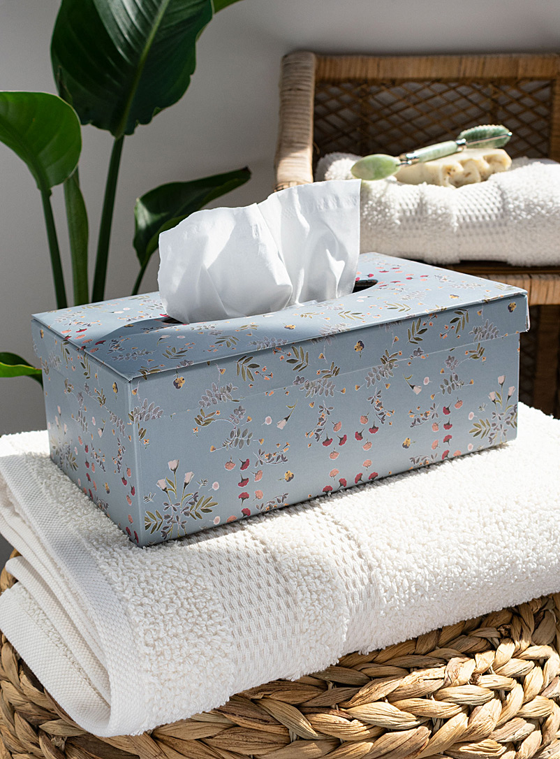 Simons Maison Assorted Immortal flowers tissue box