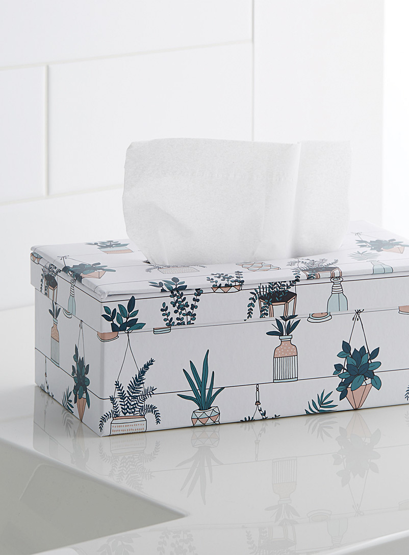 Simons Maison Assorted Hanging plants tissue box