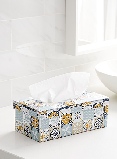 Nomad tile tissue box