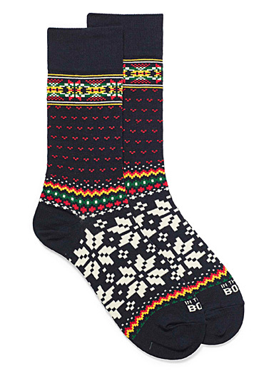 Norwegian jacquard socks