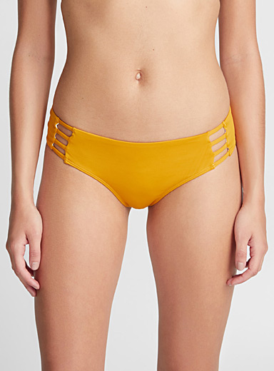 Tropical Frenzy ladder-strap bottom
