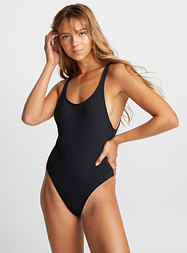 Essential scoop back one-piece