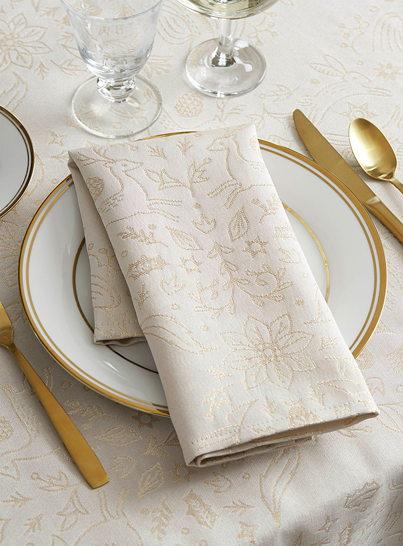 Danica Assorted Enchanted forest napkin