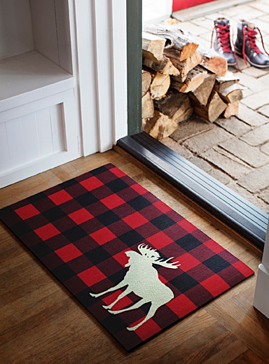 Moose hunt doormat  45 x 70 cm