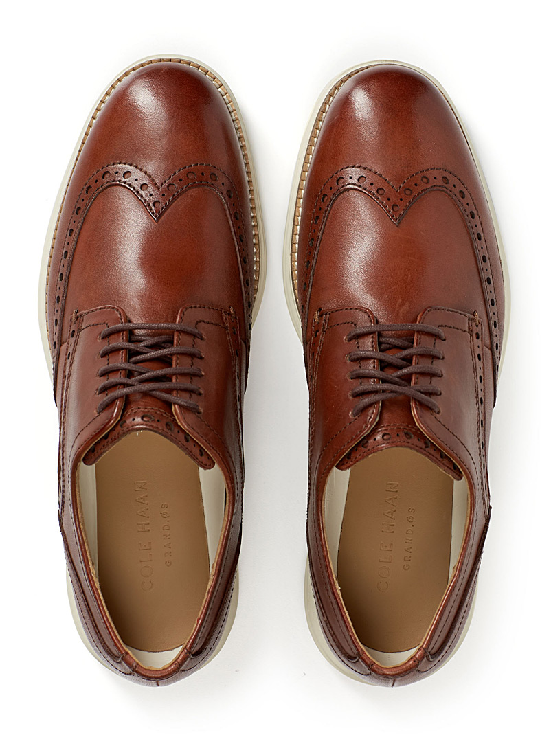 OriginalGrand Wingtip shoes - Sneakers - Fawn