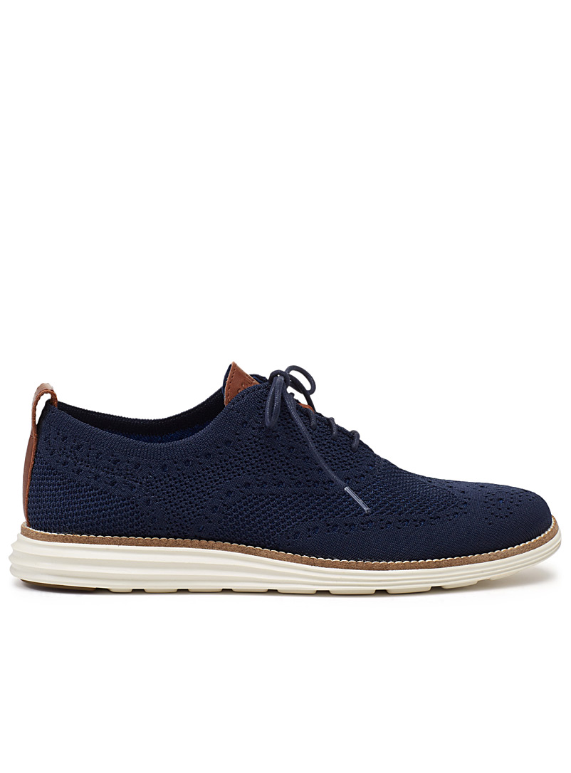ØriginalGrand Wingtip Oxford - Dress - Marine Blue