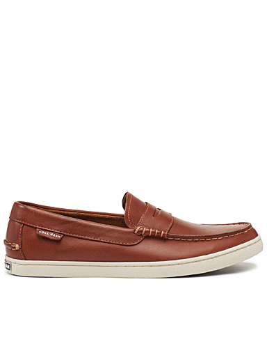 Pinch cognac loafers