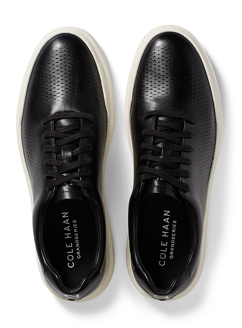 Cole Haan White GrandPrø Rally Laser Cut sneakers Men for men
