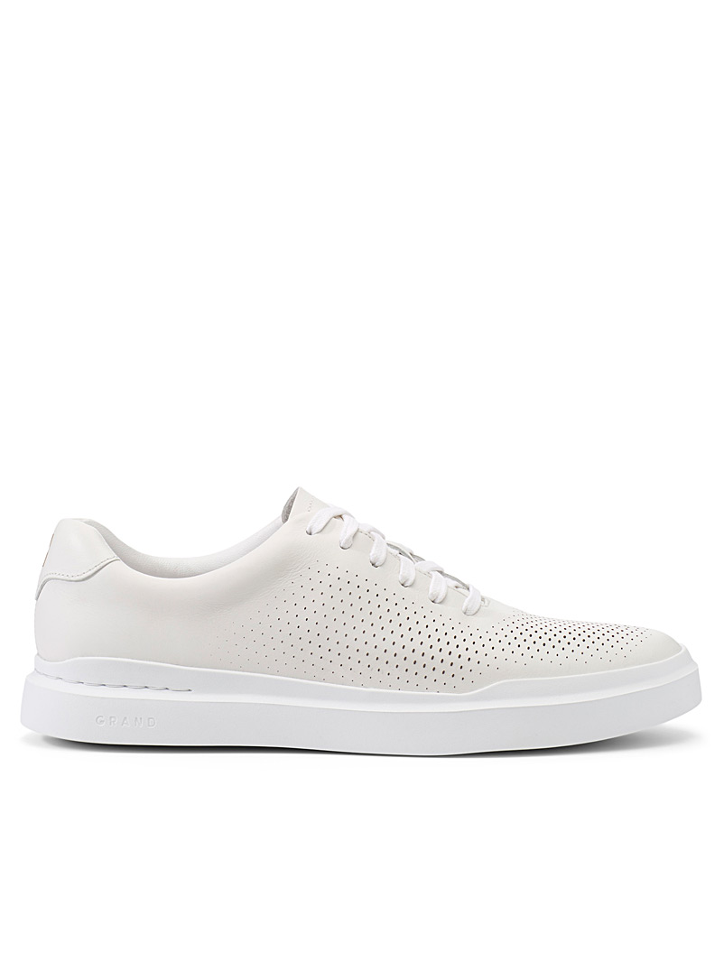 Cole Haan White GrandPro Rally sneakers for men
