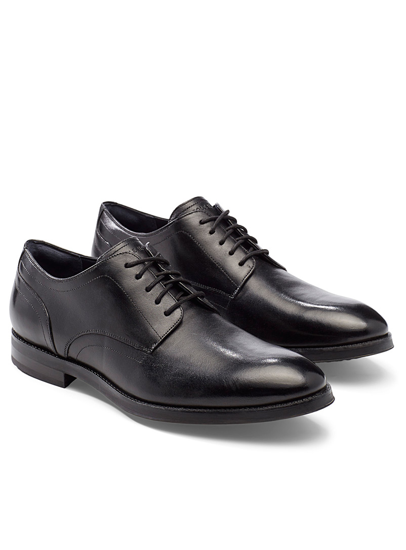 Cole Haan Black Lewis Grand derby shoes for men