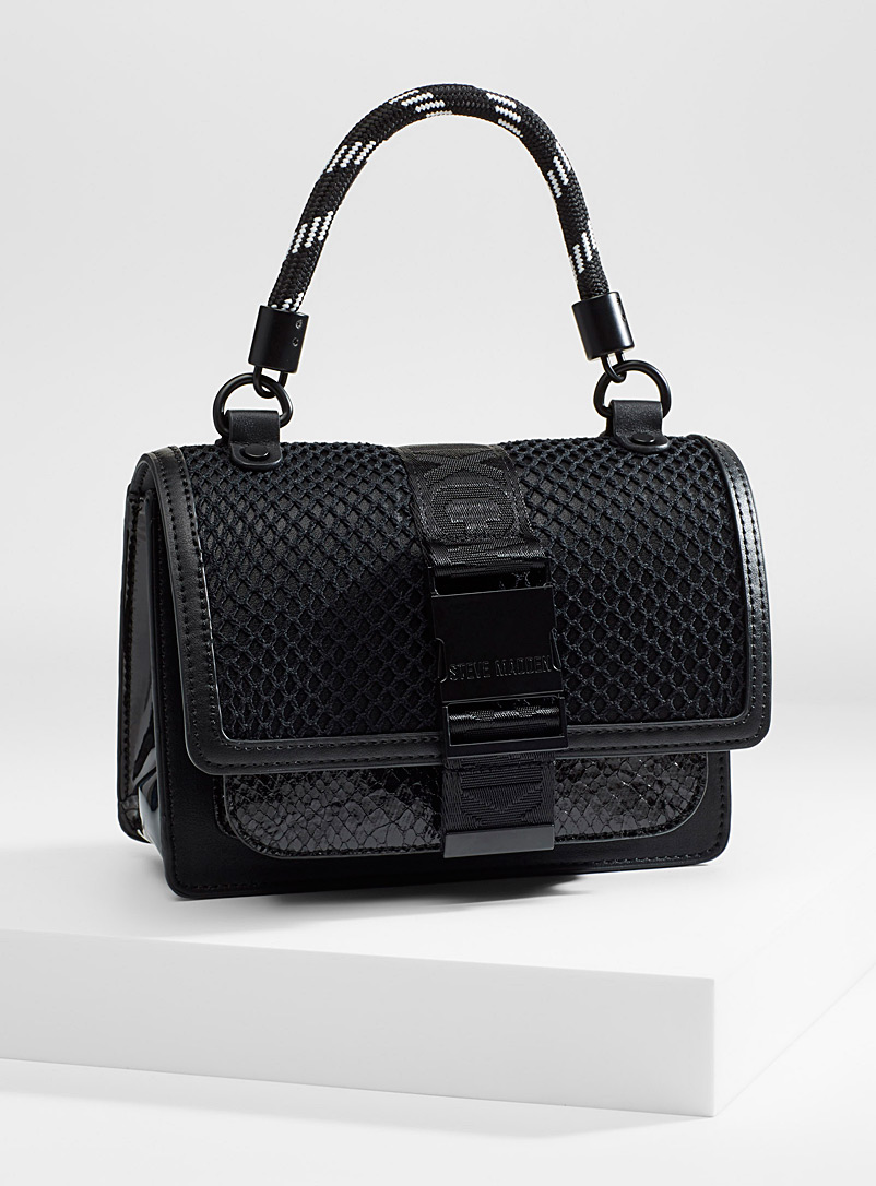 Steve Madden Black Bremmie shoulder bag for women