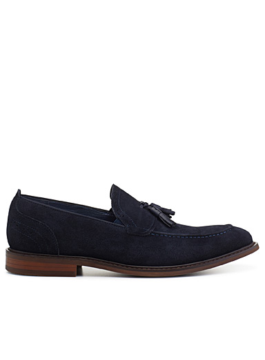 Midnight blue Boggart loafer