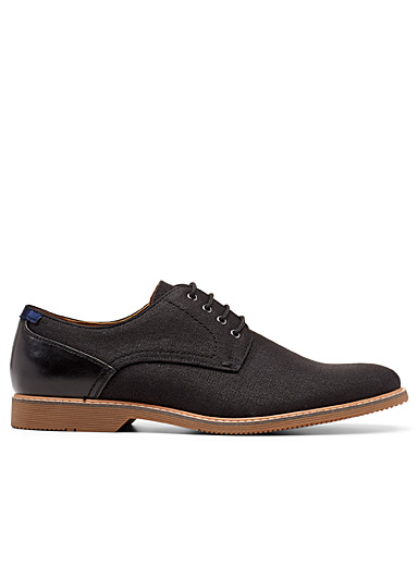 Steve Madden Black Northill derby shoes for men