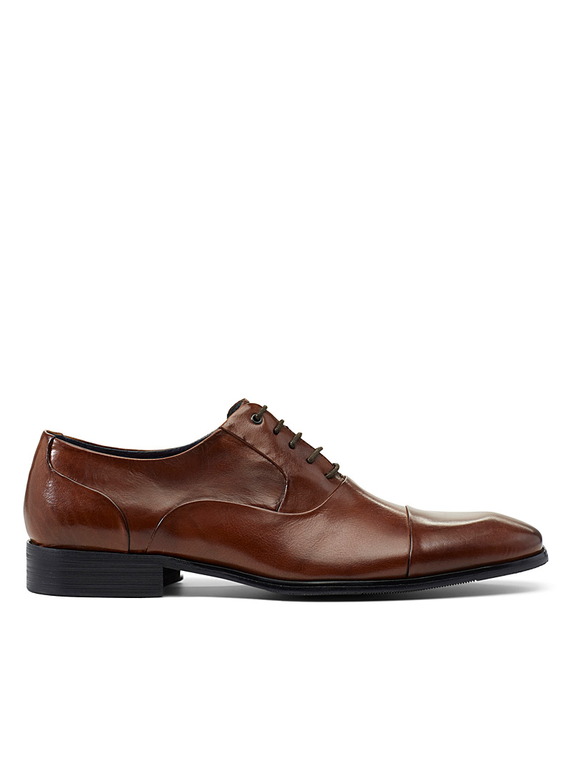 Steve Madden Black Joaquin Oxford shoes for men