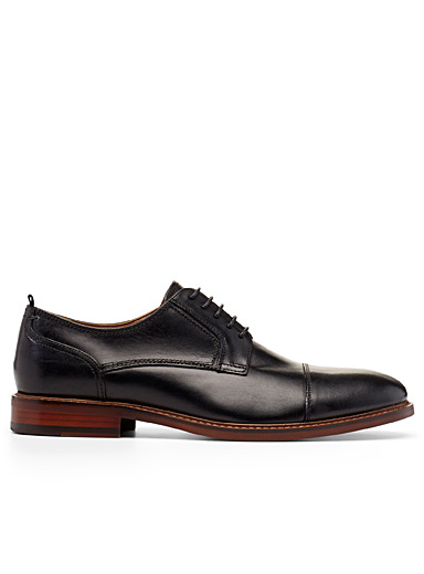 Steve Madden Black Chad derby shoes  Men for men