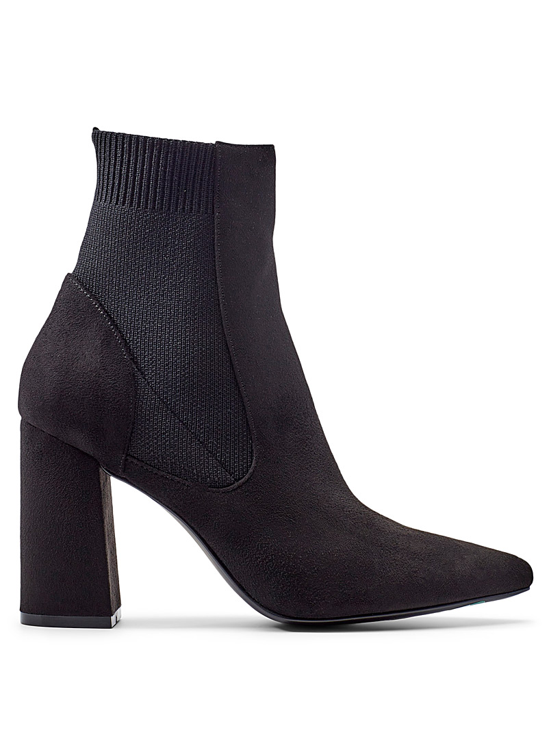 Steve Madden Black Reesa heeled Chelsea boots for women