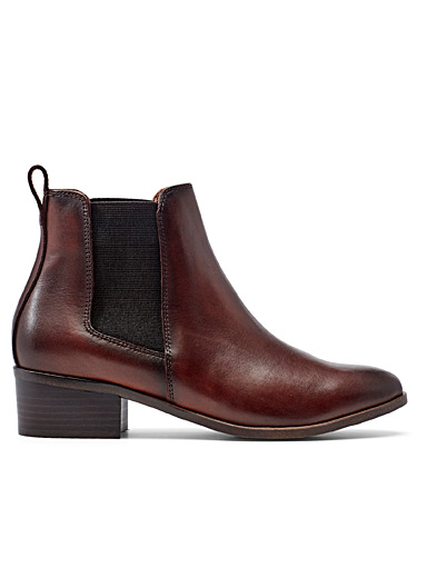 Steve Madden Fawn Dover leather Chelsea boots for women