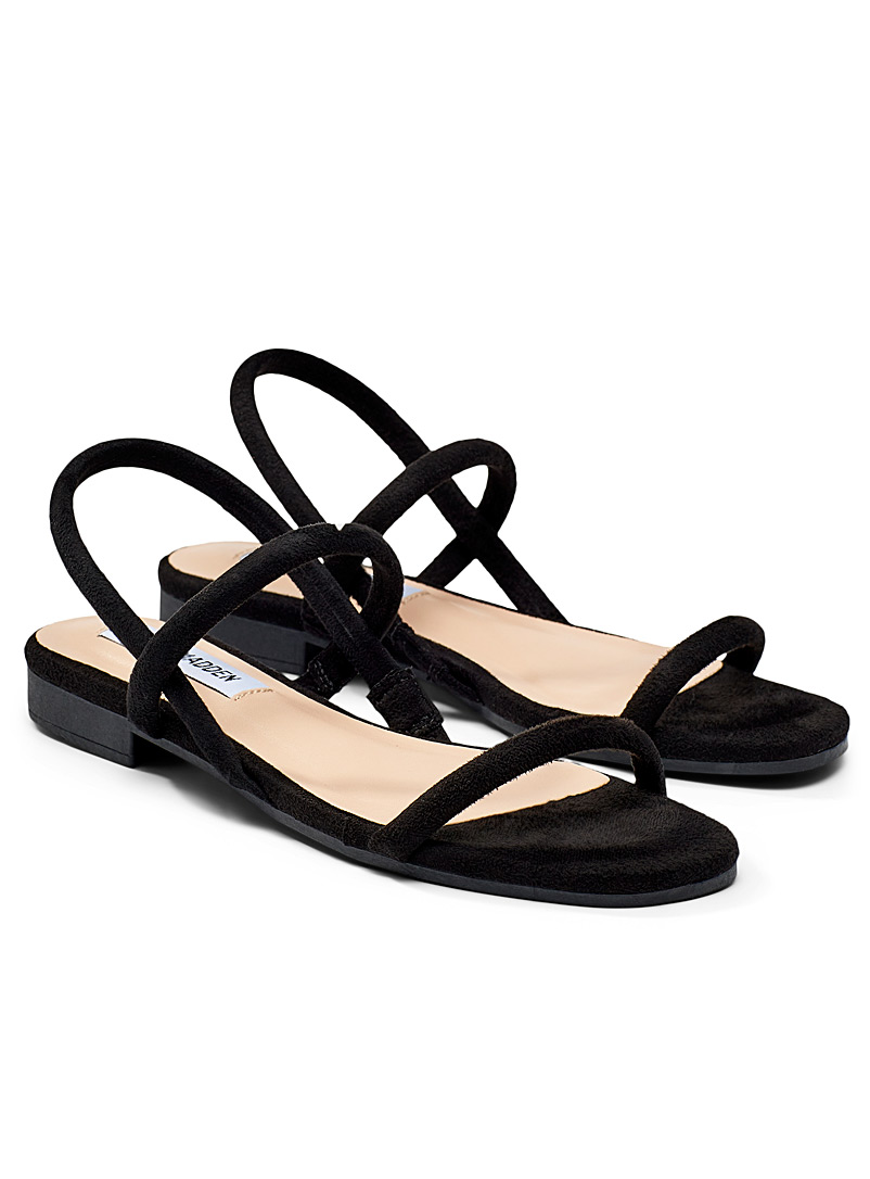 Steve Madden Black Remii sandals for women