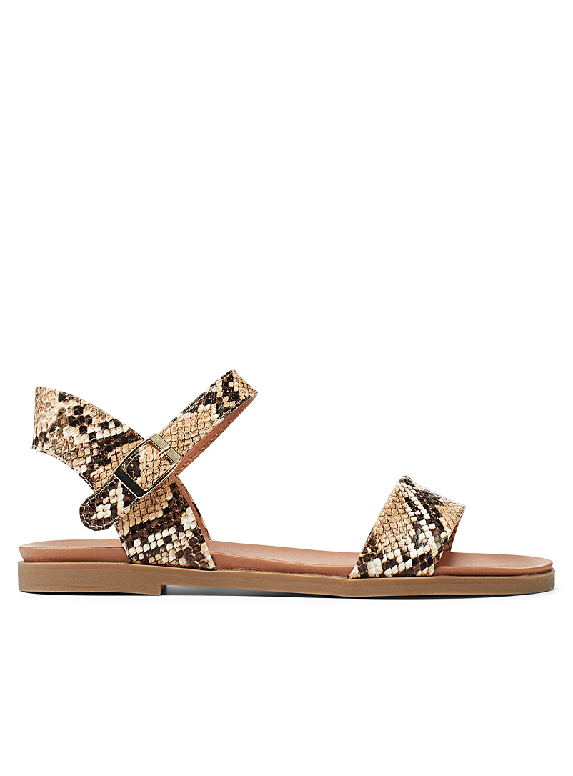 Steve Madden Patterned White Daelyn sandals for women