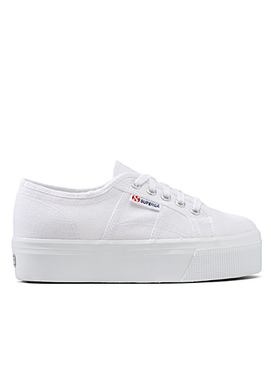 Superga White Platform 2790 sneakers for women