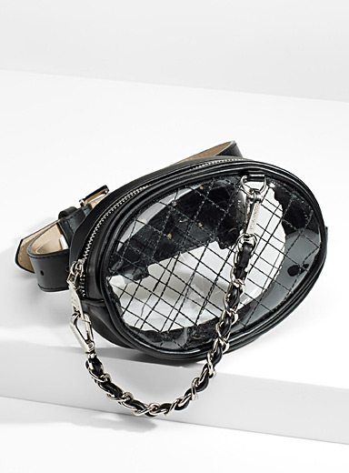 Urban see-through belt bag