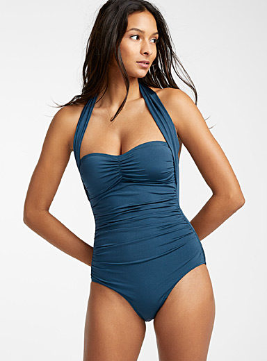 Multi-style bandeau one-piece