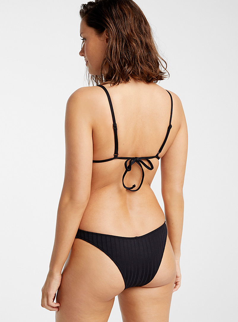 Everyday Sunday Black Revealing cheeky bottom for women
