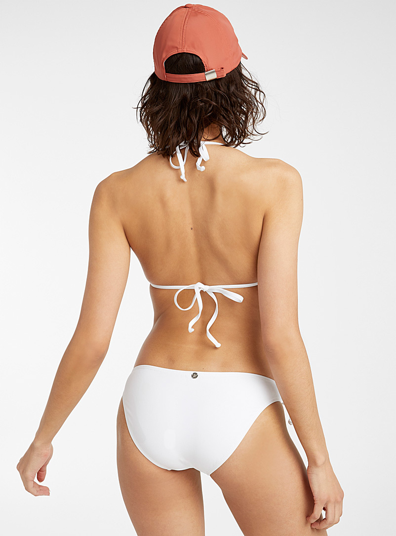 Quintsoul White Buckle bikini for women