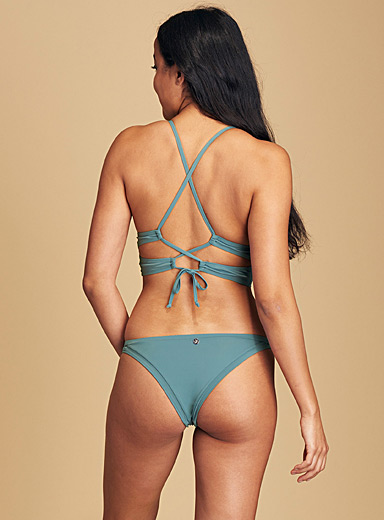 Quintsoul Khaki Celadon green cheeky bottom for women