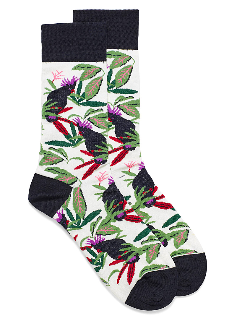 tropical-cockatoo-dress-socks