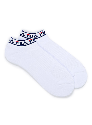 Logo band ankle socks