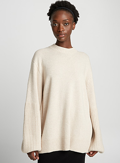 Aida wool and cashmere sweater