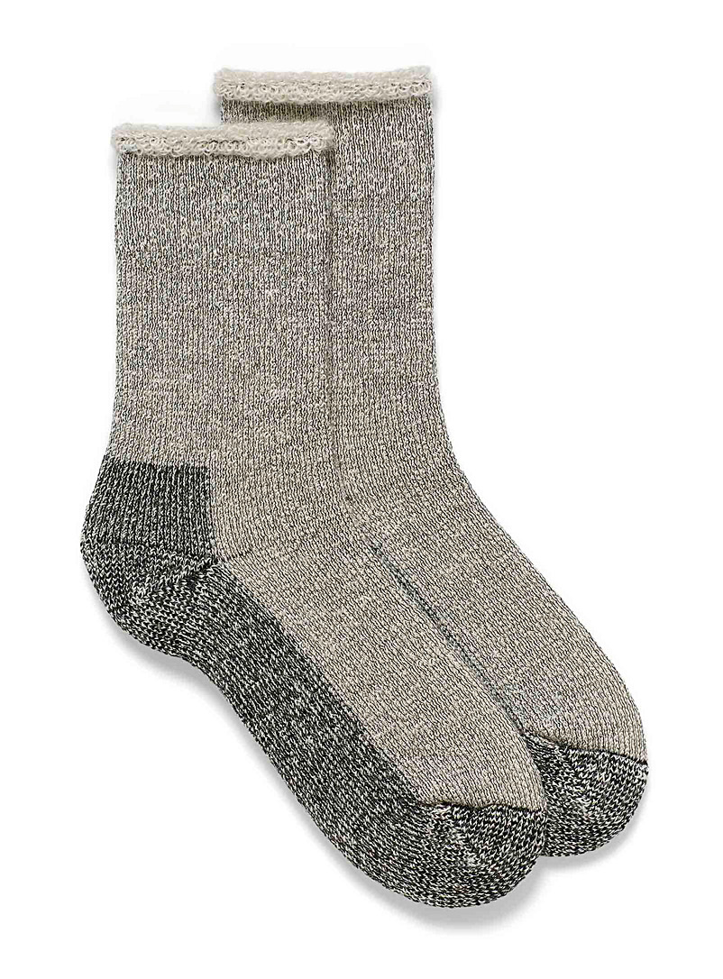 Mohair thermal socks