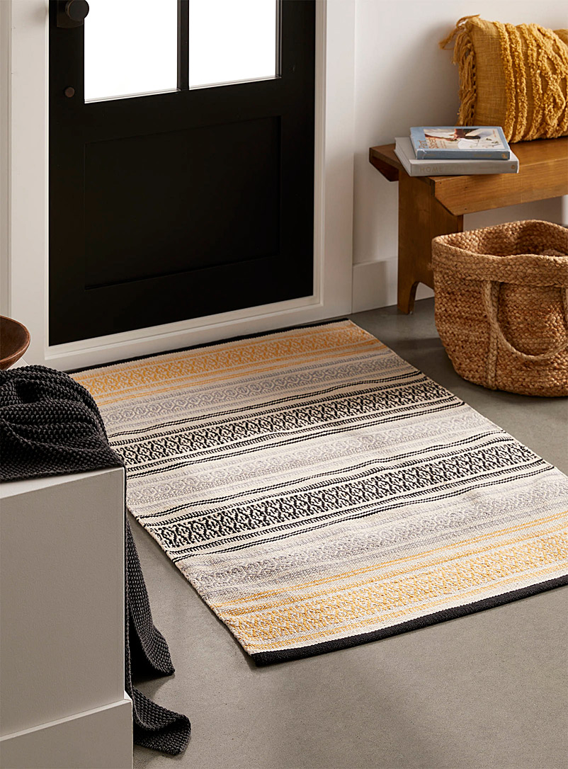 Route to the Indies rug  90 x 130 cm - Patterned - Assorted