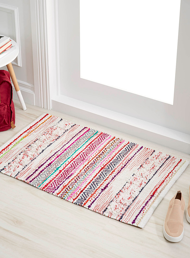 Artisanal weave rug  60 x 90 cm - Small Rugs - Assorted